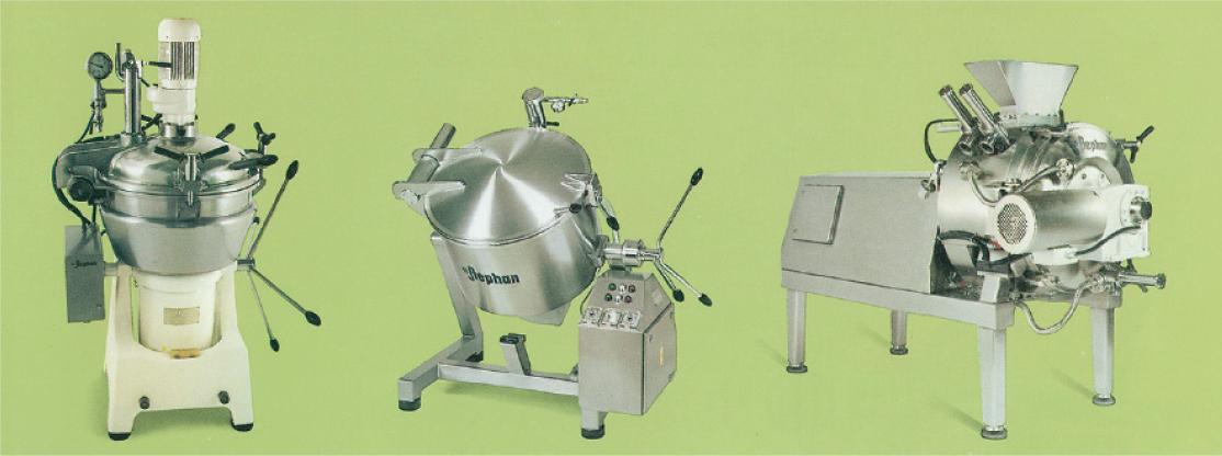 ステファン社の食品加工機械