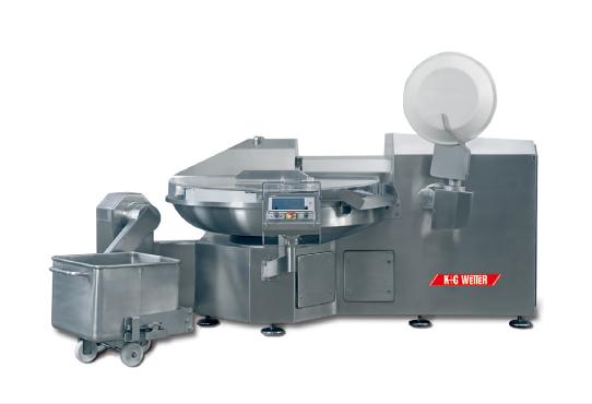 KGヴェッター社の食品加工機械(バキュームボールカッター)