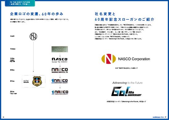 中村産業60年史 企業ロゴの変遷、6 0 年の歩み、社名変更と60周年記念スローガンのご紹介PDFダウンロード